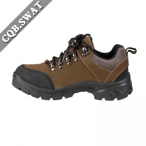 China Anti-skid Low Cut Water-proof Safety Boots Police Tactical Shoes on sale