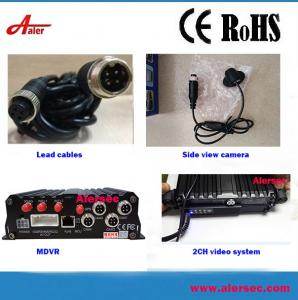 China AH100 SD  DVR Móvil 3G 4G GPS  4 Canales Solución de Seguridad de Vehículos on sale
