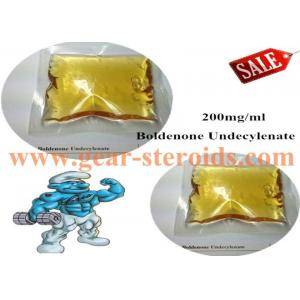 China Yellow Liquid Boldenone Steroid BoldenoneUndecylenate Muscle Bulding CAS 13103-34-9 on sale