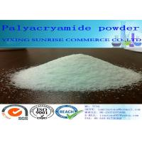Water Soluble Polyacrylamide Water Treatment Off White Granular Powder