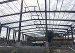 Fast Assembling Pre Built Buildings / Prefab Workshop Buildings High Efficiency