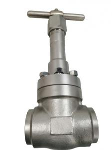 China SS304 / 316 SW BW Connection Cryogenic Globe Valve PN320 on sale