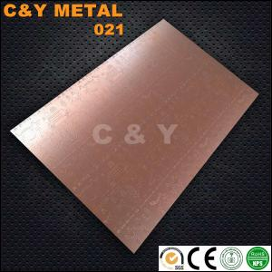 China CY-021#Etched stainless steel with high quality and competitive price on sale