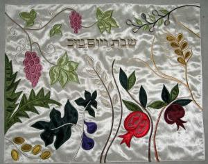China Judaica Custom Embroidery Gifts, Judaism Embroidery Religion, Jewish Challah Covers on sale