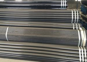 China High Pressure Black Steel Seamless Pipes For Fertilizer Making Equipment on sale