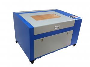 China Small Power Cnc Laser Cutting Machine 50 Watt Or 60 Watt For Plexiglass Wooden Board on sale