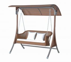 China metal swing frame for garden swing chair on sale