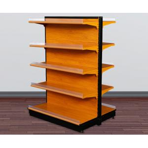 Quality Attractive Shop Display Equipment Supermarket Display Shelving With Light Box for sale