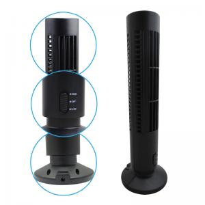 China No Leaf Bladeless Home Table USB Tower Fan Light Weight And Space Saving on sale