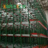 Steel Automated Pallet Runner Rack System Warehouse Pallet Storage SGS Certificate