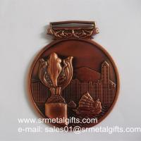3D Hong Kong Tournament metal medals and medallions, 3D embossed vintage medals,