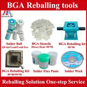 China laptop repair accessories directly heating stencil and new bga ball on sale