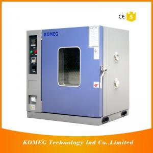 China High Precision Hot Air Electric Drying Oven 50º C-300º C Temp For Laboratory Use on sale