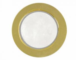 China Φ9.9~Φ56mm External Driven Piezo Diaphragm / Piezo Element Ceramic Disc on sale