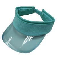 Transparent Plastic PVC Sun Visor Hat Cap for UV Protection Kids Size