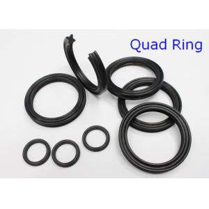 China AS568 NBR Metric Quad Rings Seals , Pneumatics / Hydraulic Y Ring 70 Shore on sale