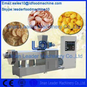 China Twin Screw / Double Screw Food Processing Machinery Snack Food Extruder on sale