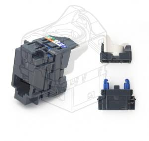 China Catagory 6A RJ45 Keystones unShielded 10GB Female Jacks For High Speed Network Connection on sale