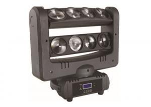 China Moving Head LED Effect Light Spider Beam 8 x 10W 4in1 CE / ROHS on sale
