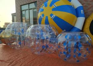 China Water - Proof Inflatable Ball Soccer , PVC 1.0mm Bubble Soccer Inflatables on sale