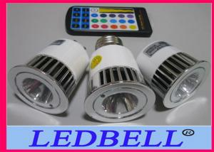 China 5W 250V AC E27 RGB Led Spot Lamps Bulb Used For Landscping on sale