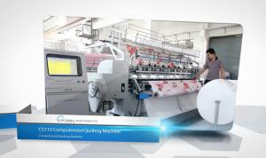 China Computerized High Speed Quilting Machine 110 With Panasonic Frequency Conversion Control Devices on sale