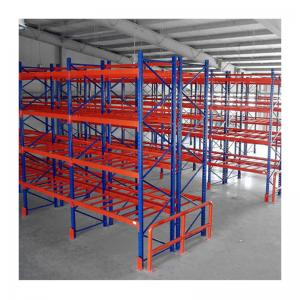 China Cold Rolled Steel Pallet Racking  High Capacity Storage 250-1000KG Per Level on sale
