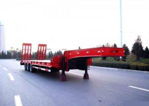 China Bas de lit axes du camion de remorque semi 3 80 tonnes 17m pour la machine de chargement de construction on sale