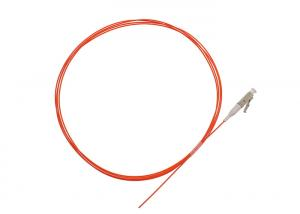 China Orange OM1 OM2 Fiber Optic Pigtails With SC LC FC ST Connector / PVC LSZH Jacket on sale