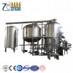 Hot sale 500L 1000L three vessels beer brewhouse mash system for micro brewhouse