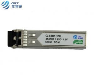 China Gigabit 1000SX (LC) multi-mode SFP 550m 850nm Optical Fiber Transceiver on sale