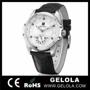 China High Quality Quartz Stainless Steel Watches, Chronograph Watch on sale