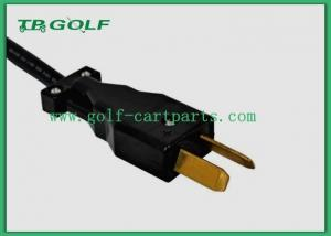 Quality Electric Dc Crowsfoot Golf Cart Charger Plug For Club Car 12 Months Warranty