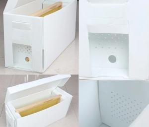 China OEM Available Bee Hive Equipment Queen Rearing PP Plastic Corrugated Nuc Box on sale