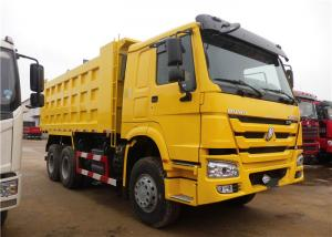 China HOWO 6x4 Heavy Duty Dump Truck , 18M3 20M3 U Shape 30 Ton 25 Ton Dump Truck on sale