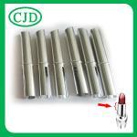 Tubo oval vacío de aluminio de la barra de labios