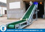 Carbon Steel Large Angle Belt Conveyor with Corrugated Edge & Cross Section