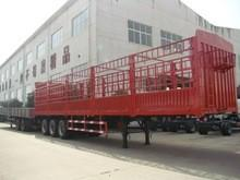 China 40ft warehouse barrier semi trailer truck on sale