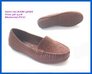 5e679809f197 2014 woman PCU flocking sandals fashion new design PCU sandals ASM-368A