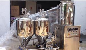 China Red Copper Electric Heating Draft Beer Making Machine For Home Brewing Equipment on sale