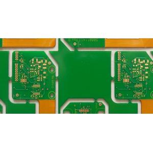 China 0.6mm Immersion Gold FR4 / Polyimide 6 Layer FPC Custom PCB Board / Rigid Flex PCB For Industrial Control on sale