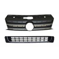 China Plastic ABS Auto Front Grille and Lower Bumper Grille For Amarok 2011 2012 - 2015 2016 on sale