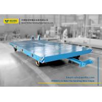 China 15T Transport Steerable Heavy Duty Plant Trailer with Draw Bar on sale