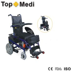 China TOPMEDI ce&fda stand up battery Handicapped Electric Standing Wheelchair on sale