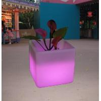 LED FLOWER POT Waterproof  IP54 for outdoor use,RGB COLOR CHANGE ,With remote control