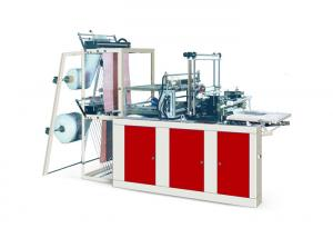 China Double Layer Small Plastic Bag Making Machine 4 Line For White Vest Bag GFQ Series on sale