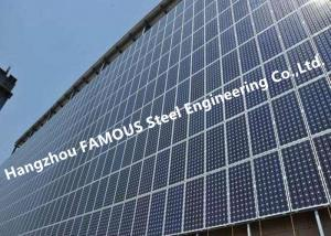 China PV Glass Curtain Wall BIPV Ventilated Facade Systems for Solar EPC Contractors on sale