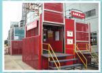 Industrial 1.5 Ton Personnel Construction Material Hoist For Building And Bridge