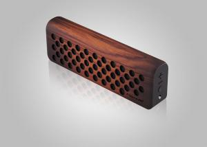 China Wooden Portable Super Bass Home Bluetooth Speakers , Wireless Sport Bluetooth Speaker on sale