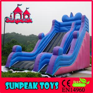 China SL-368 For Adult And Kids Dry Inflatable Slide on sale